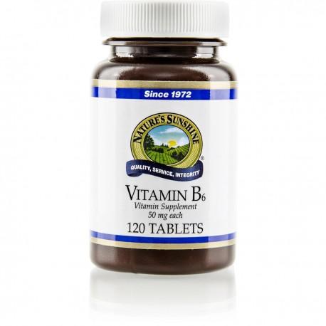 Vitamina B6 50mg (120 tab)