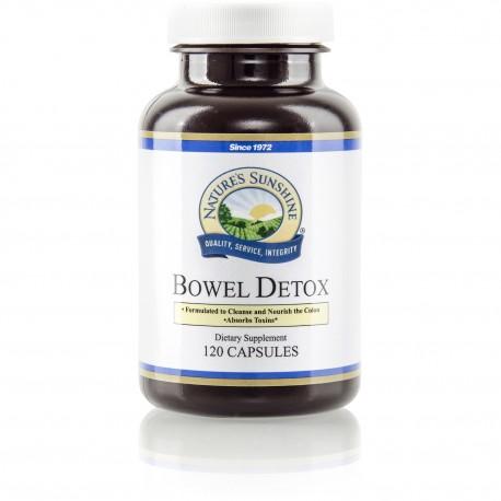 Desintoxicación intestinal Bowel Detox (120cap)