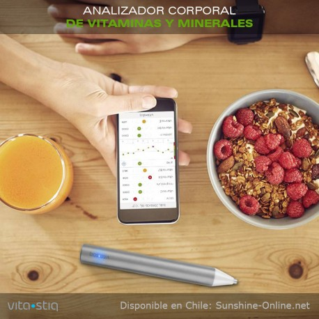 Analizador Corporal de Vitaminas y Minerales - VITASTIQ