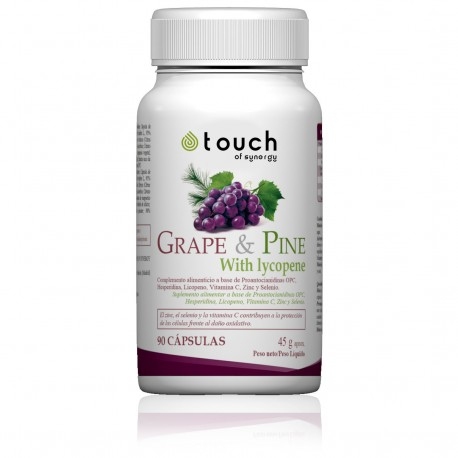 Uva y Pino, Grape & Pine (90 cap) - Touch of Synergy