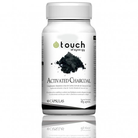 Carbon Activado (90 cap) Activated charcoal - Touch of Synergy