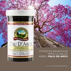 Palo de Arco (100 cap) - Natures Sunshine